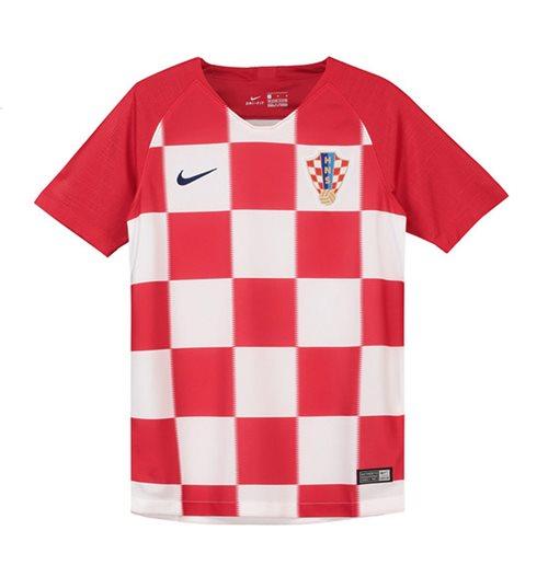 31e28fb9c713a Compra Camiseta Croácia Futebol 2018-2019 Home de criança Original