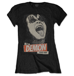 Camiseta Kiss de mulher - Design: The Demon Rock