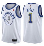 Camiseta Golden State Warriors JaVale McGee Nike Hardwood Classic Réplica