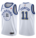 Camiseta Golden State Warriors Klay Thompson Nike Hardwood Classic Réplica