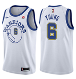 Camiseta Golden State Warriors Nick Young Nike Hardwood Classic Réplica