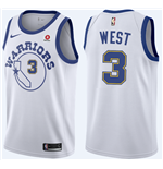 Camiseta Golden State Warriors David West Nike Hardwood Classic Réplica