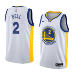Camiseta Golden State Warriors Jordan Bell Nike Association Edition Réplica