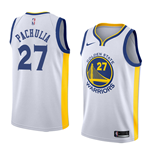 Camiseta Golden State Warriors Zaza Pachulia Nike Association Edition Réplica