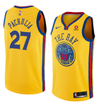 Camiseta Golden State Warriors Zaza Pachulia Nike City Edition Réplica