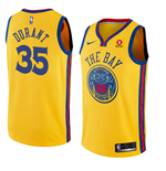 Camiseta Golden State Warriors Kevin Durant Nike City Edition Réplica