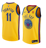 Camiseta Golden State Warriors Klay Thompson Nike City Edition Réplica
