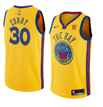 Camiseta Golden State Warriors Stephen Curry Nike City Edition Réplica