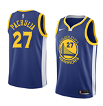 Camiseta Golden State Warriors Zaza Pachulia Nike Icon Edition Réplica