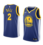 Camiseta Golden State Warriors Jordan Bell Nike Icon Edition Réplica