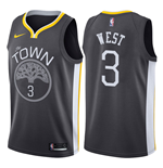 Camiseta Golden State Warriors David West Nike Statement Edition Réplica