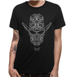 Camiseta Westworld - Circuit Face