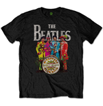 Camiseta Beatles de homem - Design: Sgt Pepper