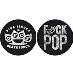 Slipmat Five Finger Death Punch - Design: Knuckle/Fuck Pop