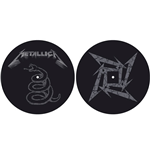 Slipmat Metallica - Design: The Black Album