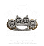 Broche Five Finger Death Punch - Design: Knuckle Duster