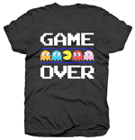 Camiseta Pac-Man de homem - Design: Game Over