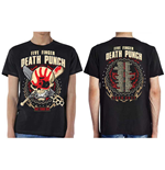 Camiseta Five Finger Death Punch de homem - Design: Zombie Kill Fall 2017 Tour