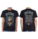 Camiseta Five Finger Death Punch de homem - Design: Wingshield Fall 2017 Tour