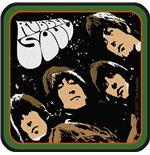 Logo Beatles - Design: Rubber Soul Album