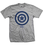Camiseta Marvel Superheroes de homem - Design: Avengers Infinity War Capt. America Icon