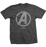 Camiseta Marvel Superheroes de homem - Design: Avengers Infinity War A Icon