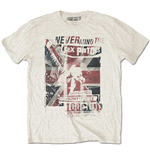 Camiseta Sex Pistols de homem - Design: 100 Club