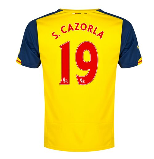 Camiseta Arsenal 2014-2015 Away