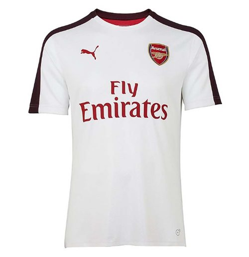 Camiseta 2018/2019 Arsenal 2018-2019 (Branco)