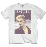 Camiseta David Bowie de homem - Design: Smoking