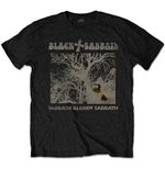 Camiseta Black Sabbath de homem - Design: Sabbath Bloody Sabbath Vintage