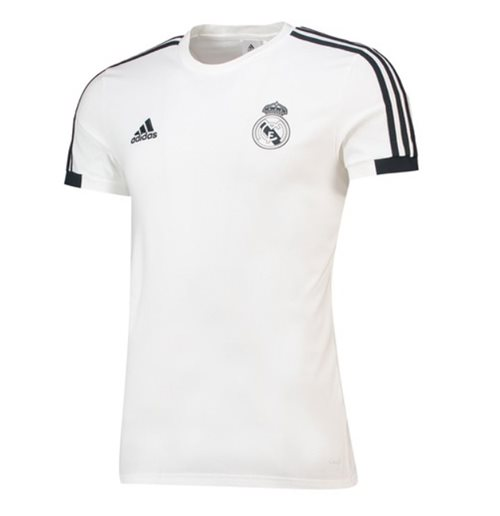 Camiseta Real Madrid 2018-2019 (Branco)