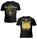 Camiseta Five Finger Death Punch de homem - Design: War Head