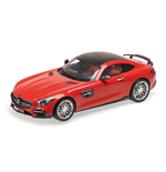 BRABUS 600 AUF BASIS MERCEDES BENZ AMG GT S 2016 RED