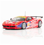FERRARI 458 ITALIA GTE AM #61 TEAM LUXURY RACING 24H LE MANS 2012 FUJIMI