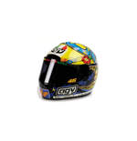 CASCO AGV VALENTINO ROSSI GP 250 WORLD CHAMPION 1999