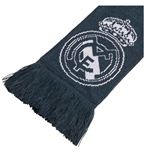 Cachecol Real Madrid 2018-2019 (Cinza Escuro)