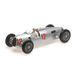 AUTO UNION TYP C HANS STUCK BUDAPEST GRAND PRIX 1936