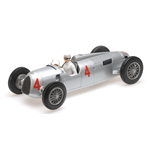 AUTO UNION TYP C ACHILLE VARZI 2ND PLACE GRAND PRIX AUTOMOBILE DE MONACO 1936