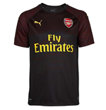 Camiseta 2018/2019 Arsenal 2018-2019 Home (Preto)