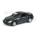 MERCEDES BENZ SLK CLASS 2004 GREEN METALLIC
