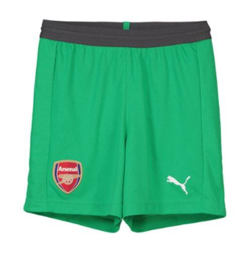 cb9119e3f Compra 2018-2019 Shorts de guarda-redes do Arsenal (verde) - crianças
