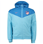2018-2019 Atlético Madrid Nike Authentic Windrunner Jacket (Azul)