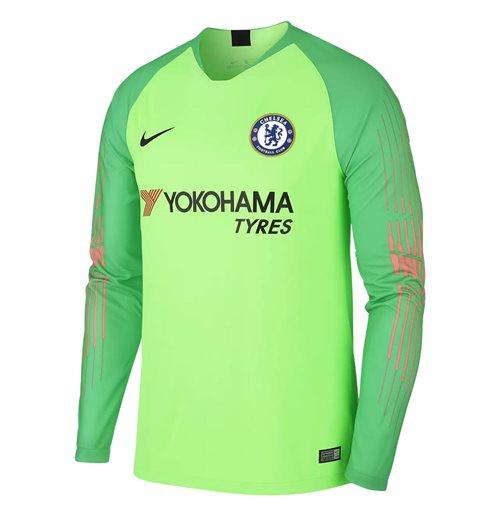 Compra 2018-2019 Chelsea Home Nike Camisa de Goleiro (Verde) - Crianças fc69f4a32728b