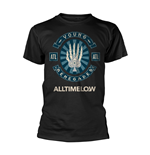 Camiseta All Time Low Skele Spade