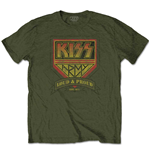 Camiseta Kiss de homem - Design: Loud & Proud