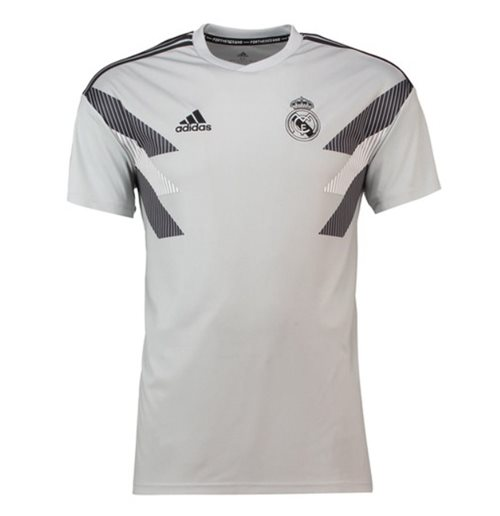 Camiseta Real Madrid 2018-2019 (Cinza)