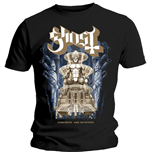 Camiseta Ghost de homem - Design: Ceremony & Devotion