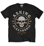 Camiseta Asking Alexandria Danger (Retail Pack)