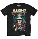 Camiseta Asking Alexandria Hat Skull (Retail Pack)